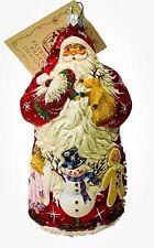 Patricia Breen Noel Theater Red Snowman Reindeer Puppets 2005 #2500Nm Neiman 6�