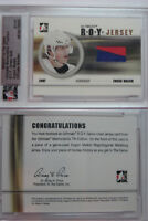 2006-07 ITG Ultimate Evgeny Malkin 1/1 ROY jersey GOLD RC 1 of 1 rookie