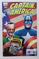 CAPTAIN AMERICA #695 STAN LEE BOX VARIANT Rare Marvel Legacy Avengers NEAR MINT
