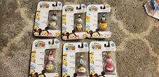 TSUM TSUM Series 1 & 2 Disney Characters, Collect 'em, Stack 'em, 6 pks in unit