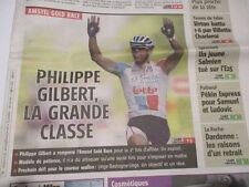 PHILIPPE GILBERT : GAGNE L'AMSTEL GOLD RACE - 18/04/2011
