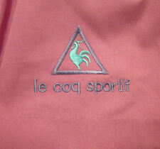 LE COQ SPORTIF women's tennis skirt 1980s size 10 embroidery French rooster