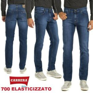 CARRERA Jeans Trousers Man Light Spring Summer Elasticated Classic 700