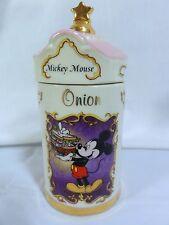 "Lenox Walt Disney Spice Jar "" Onion "" Mickey Mouse - Nice"