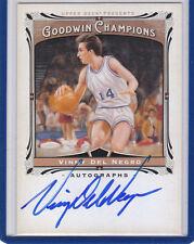 Vinny Del Negro 2013 UD Goodwin Champions Autograph Kings Spurs Bucks Warriors