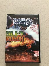 Godzilla Vs. Destoroyah Dvd. Science Fiction Sci-Fib