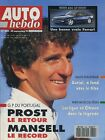 AUTO HEBDO n°849 du 30 Septembre 1992 FERRARI 456 MAZDA 323 4x4 GT-R MAZDA MX5