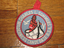 Charles L. Sommers Wilderness Canoe Base patch- Boy Scouts of America