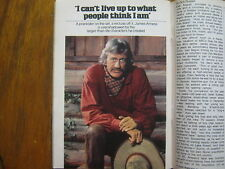 1979 TV Guide (JAMES  ARNESS/HOW THE WEST WAS WON/KITTY O'NEIL/STEVE GUTTENBURG