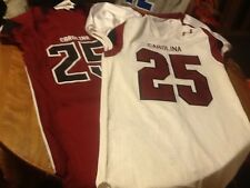 Under armour south carolina gamecocks football jersey, adult large home/away lot