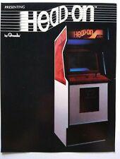 Gremlin Head On Arcade FLYER Original 1979 Video Game Retro Paper Art Sheet