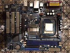 FUNCTIONAL ASRock P4I65G Motherboard, Intel Pentium 4 CPU, Graphics Card and RAM