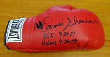 Earnie Shavers Heavyweight Boxer Signed Boxing Glove JSA/PSA Guarantee