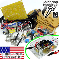LM317 Adjustable Voltage Power Supply [SOLDERING REQUIRED] DIY Kit 1.25V - 12V