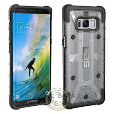 UAG - Samsung GS8 Plasma Case - Ice/Black Cover Shell Protector Guard Shield