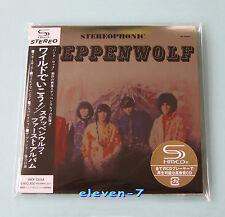 STEPPENWOLF S/T JAPAN mini LP CD SHM brand new & still sealed