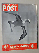 ANCIEN MAGAZINE - PICTURE POST - N° 9 VOL. 48 - 26 AOUT 1950 *