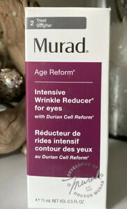 Murad Age Reform Intensive Wrinkle Reducer for Eyes 0.5 fl oz Authentic