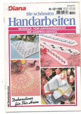 Diana NR 1/2 1996 les plus beaux travaux manuels modèle crochet fasses du crochet le canevas