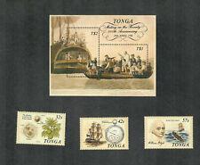 Tonga Sc#710-713 M/NH/VF, Cv. $34