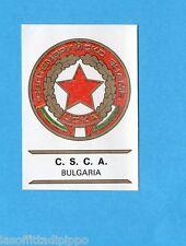 FOOTBALL CLUBS-PANINI 1975-Figurina n.45- C.S.C.A.- BULGARIA -SCUDETTO-Rec
