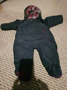 Ted Baker Baby Snowsuit Pram Suit 3-6 Months