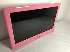 "ALBA Pink TV Television 16"" With Remote"