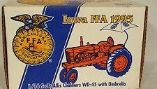 Ertl Allis Chalmers WD-45 w/umbrella 1/16 diecast farm tractor replica collectib