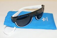 ADIDAS Originals NORTHPARK Black & White Frames Designer Sunglasses & Soft Pouch