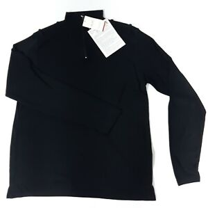 Mens Sioen Viloft Black Thermal Long Sleeve Base Layer Size 2XL Top Shirt Vest