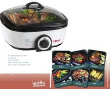 Multi Function Cooker 8 in 1,Slow Cook,Steam,Grill,Roast,Fry,1300W,5L capacity
