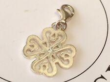 THOMAS SABO Charm Club CZ Filigree 4 Leaf Clover Clip-On Charm