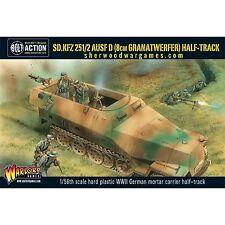 28mm Warlord Games Bolt Action German SdKfz 251/2 Ausf D (80mm mortar) BNIB WWII