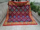 Vintage Handmade Moroccan Beni Ourain Rug Azilal Wool Carpet Berber Tribal Rug