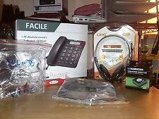 Lotto 10 Stock informatica TELEFONO FISSO+CUFFIE CON MIC+VENTOLE MODDING ECC
