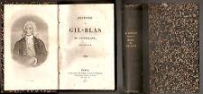 1855, Paris - Histoire de Gil Blas de Santillane / par Lesage