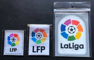 TOPPE ufficiali stagioni miste LIGA official patches mix seaons