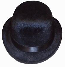 BLACK BOWLER HAT, CHARLIE CHAPLIN THEMED FANCY DRESS COSTUME BOOK DAY WEEK