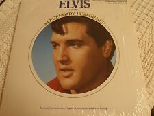 ELVIS PRESLEY RCA LP A LEGENDARY PERFORMER VOLUME 4  W/MEMORY LOG