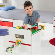 WORLDS APART ROOM2BUILD TOY BOX WHITE KIDS STORAGE CREATE PLAY DISPLAY