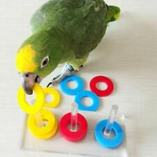 Parrot Puzzle Bird Toys Pet Training Cockatiel Chewing Budgie Bite Playing Play