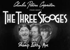 "THREE STOOGES ""STUDIO STOOPS"" 1950 MOE, LARRY, & SHEMP ORIGINAL NEAR MINT 16MM!"