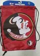 Florida State Seminoles Back Pack/Sack Drawstring Bag Backpack - NEW BIG LOGO