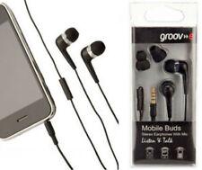 Écouteurs noir avec fil pour un mini-écouteurs (dans l'oreille)