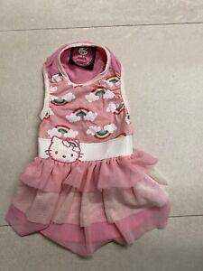 Hello Kitty Girls Dog Cat Clothing,