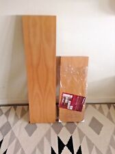 Wickes - 2 x 'Floating shelves', Beech Effect - New & Unused