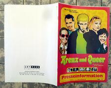 KREUZ UND QUEER * WALT DISNEY * PRESSEHEFT Pressbook German ROSE TROCHE ´99