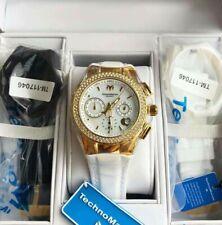 Authentic Original TECHNOMARINE 117046 40mm Ladies Womens Watch gold w/ crystal