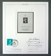 Spain nº 1 Official reprint UPU Congress 1984 Members Only!!! rare!!! z1057