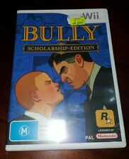 Bully Scholarship Edition Nintendo Wii Game - great condition complete w/ manual